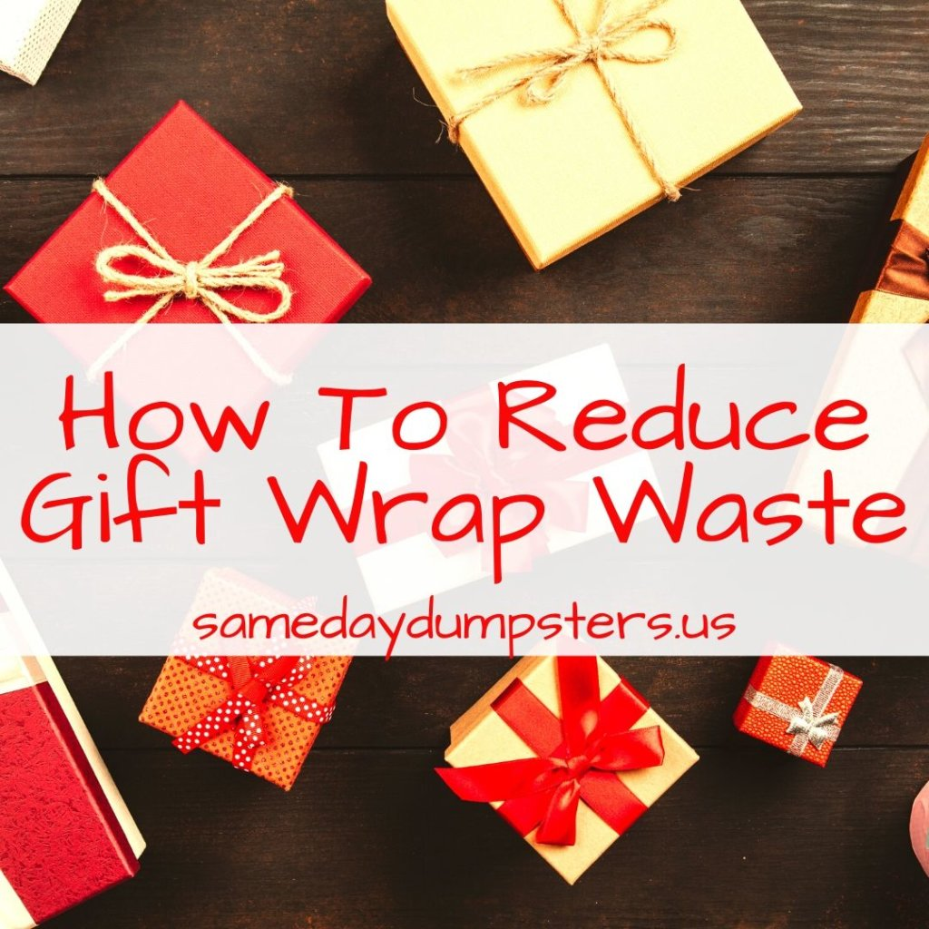 How To Reduce Gift Wrap Waste