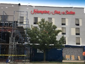 Same Day Dumpsters and Hampton Inn and Suites