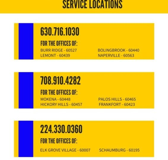 Same Day Dumpsters Rental Service Locations