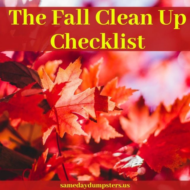 Fall Prep Checklist