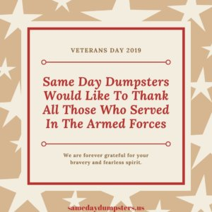 Veterans Day 2019