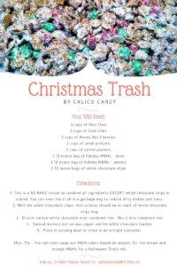 Christmas Trash Recipe