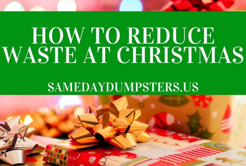 How To Reduce Waste At Christmas
