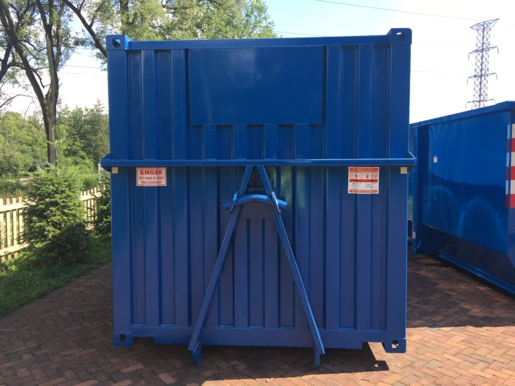Same Day Dumpster 47 yard Storage Container