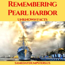 Same Day Dumpsters Remembers Pearl Harbor