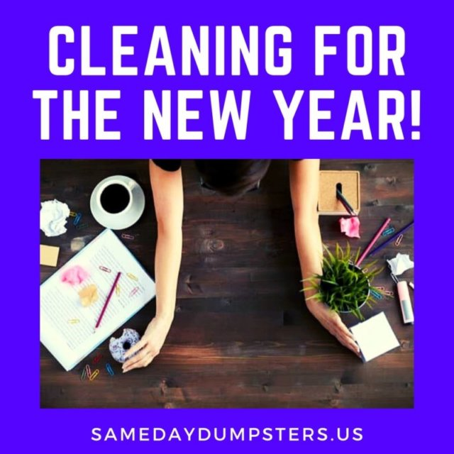 Cleaning For The New Year!
