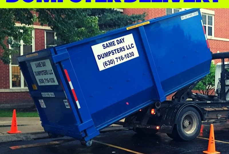 How To Prepare For Dumpster Delivery