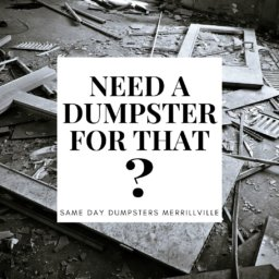 Need A Dumpster For That?