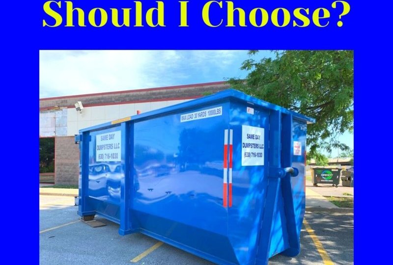 What Dumpster Size Should I Choose?