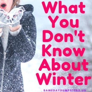 What You Dont Know About Winter