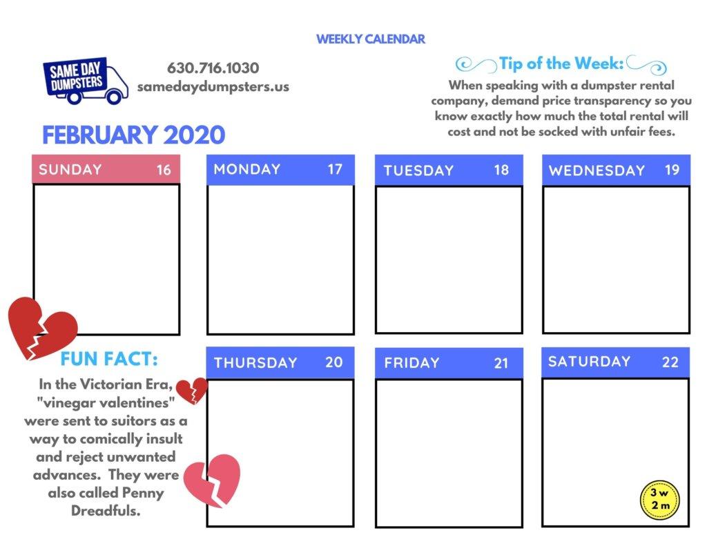 02/2020 – Week 3