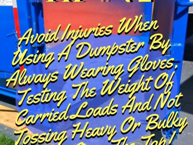 Burr Ridge Dumpster Tip 72