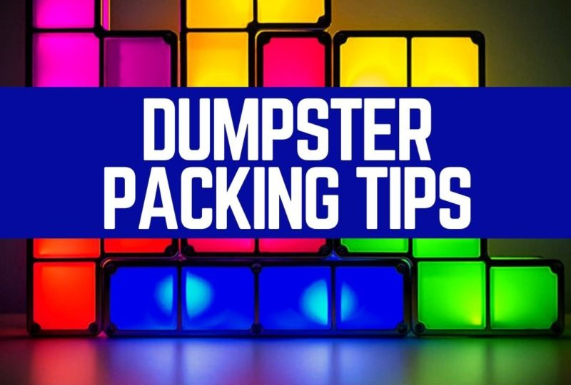 Dumpster Packing Tips