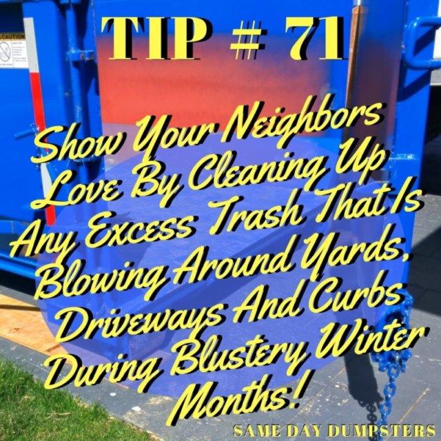 Elk Grove Village Dumpster Tip 71