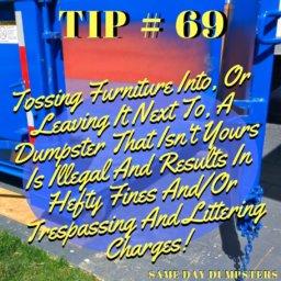 Palos Hills Dumpster Tip 69