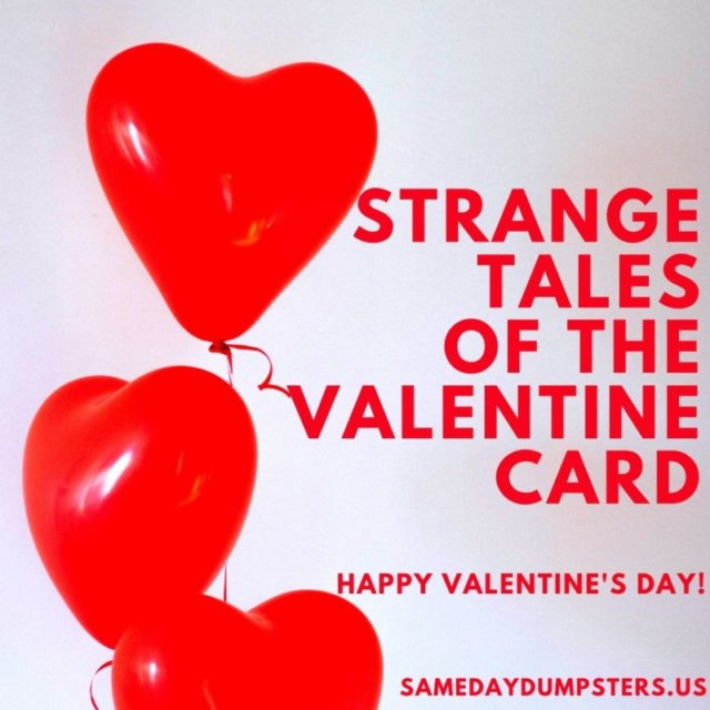 Strange Tales Of The Valentine Card