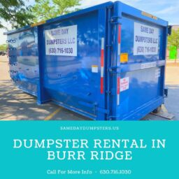Dumpster Rental In Burr Ridge