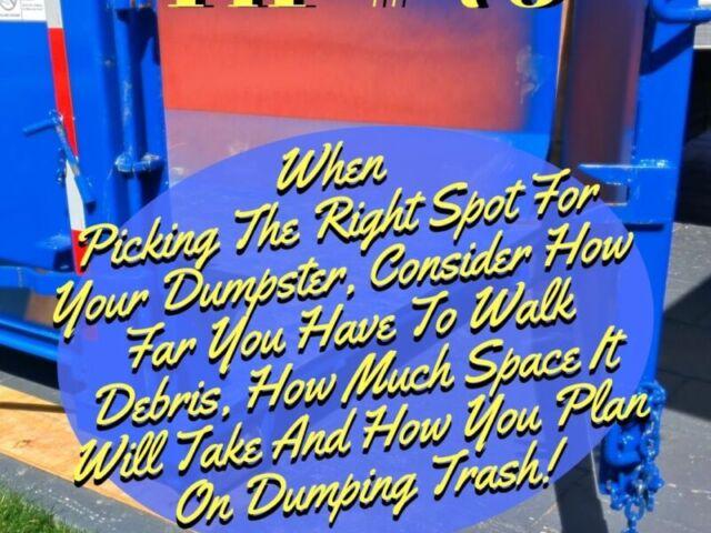 Burr Ridge Dumpster Tip 73