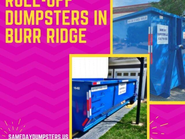Roll Off Dumpsters In Burr Ridge