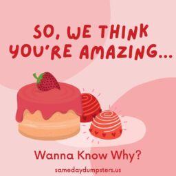 So, We Think Youre Amazing